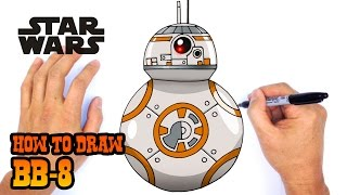 getlinkyoutube.com-How to Draw BB-8 (Star Wars Episode 7)- Kids Art Lesson