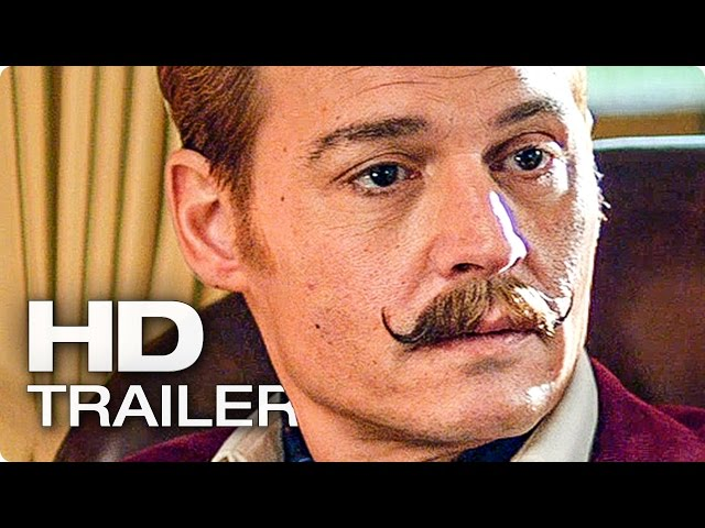 MORTDECAI Trailer #2 German Deutsch (2015)