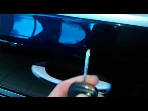 Porsche Cayenne (Порше Кайен): Как открыть машину ключом?