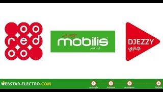 getlinkyoutube.com-تعبئة رصيدك و ارسال رسائل مدى الحياة Djezzy ooredoo mobilis 3G 14/10/2016