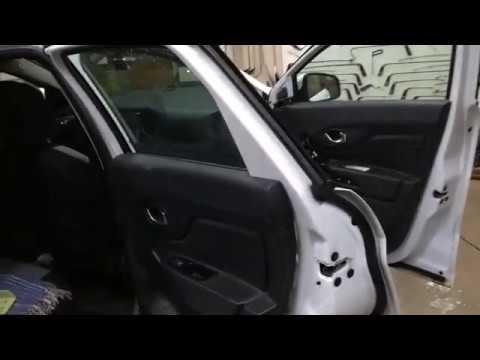 Разборка передней и задней двери на LADA XRAY