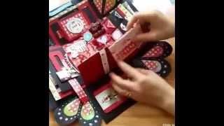 getlinkyoutube.com-Exploding Box - Love Box 60 ảnh nhé -  Hộp quà handmade ý nghĩa cho ngày valentine