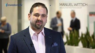 Dzień Inwestora, Pfleiderer Group SA: Manuel Wittich - inwestor indywidualny