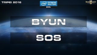 getlinkyoutube.com-StarCraft 2 - Byun vs. SOS (TvP) - IEM Taipei 2016 - Final