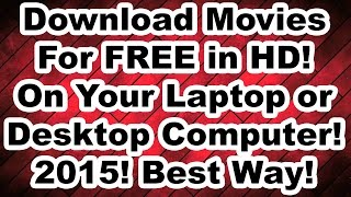 getlinkyoutube.com-How to Download Movies for FREE on your Laptop or Desktop Computer in HD! Updated 2015