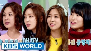 getlinkyoutube.com-Hello Counselor - Park Sohyeon, Kang Yewon, Lee Seyeong, Dayoung [ENG/2016.04.18]