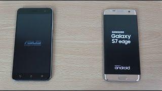 getlinkyoutube.com-Asus Zenfone 3 vs Samsung Galaxy S7 Edge - Speed & Camera Test!