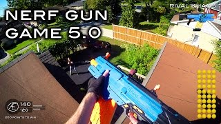 getlinkyoutube.com-Nerf meets Call of Duty: Gun Game 5.0 | First Person in 4K!