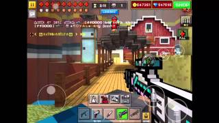 getlinkyoutube.com-Pixel Gun 3D: Sniper Weapons Only- Sniper Forts