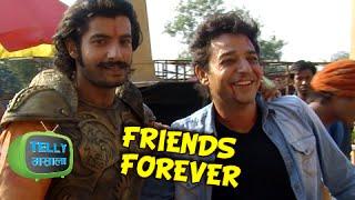 getlinkyoutube.com-Maharana Pratap And Baadshah Khans Off Screen Friendship | Maharana Pratap | Sony Tv