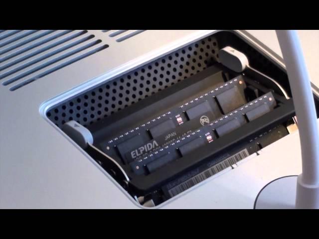 Nâng cấp Ram iMac 2013 27