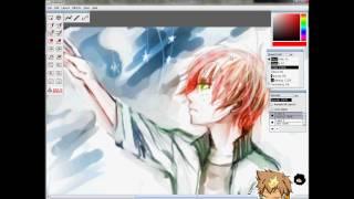 getlinkyoutube.com-Speedpainting - Anime Manga Boy