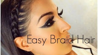 getlinkyoutube.com-Easy Braid Hairstyle