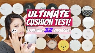getlinkyoutube.com-The ULTIMATE Cushion Guide! Battle of 32 Cushion Foundations Review
