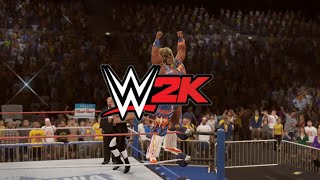 getlinkyoutube.com-WWE 2K15 - The Ultimate Warrior vs. Triple H - Wrestlemania XII - Path of the Warrior Part 8