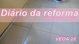 Diário Da Reforma   Quarto De Casal   VEDA 28 | Dica Da Nathy