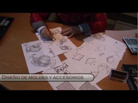 Moldes para la fabricación de piedra artificial, pisos y revestimientos