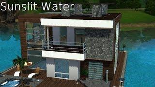 getlinkyoutube.com-The sims 3 house building│Sunslit Water [HD]