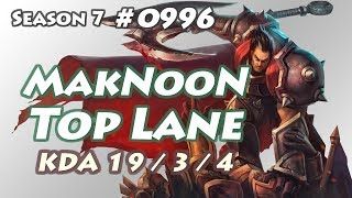 MakNooN - Darius vs Irelia - KR LOL Diamond