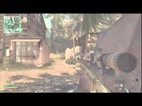 Call of duty: Modern Warfare 3 Sniper Gameplay Online - L118A