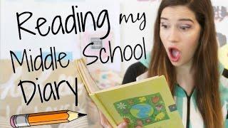 getlinkyoutube.com-READING MY MIDDLE SCHOOL DIARY!!!
