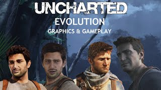 getlinkyoutube.com-Uncharted 4, 3, 2, 1 Comparison Graphics/Gameplay [1080p]