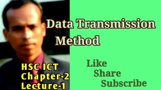 Data Transmission H.Sc Ict class