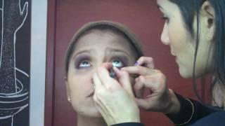 getlinkyoutube.com-ponte linda - para pieles trigueñas y morenas, maquillaje de noche