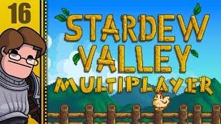 Let's Play Stardew Valley Multiplayer (v1.3 Beta) Part 16 - Iridium Pickaxe