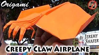 getlinkyoutube.com-Creepy Claw Paper Airplane