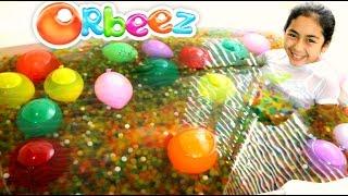 getlinkyoutube.com-ORBEEZ BATH AND BALLOON EXPLOSION!! B2cutecupcakes
