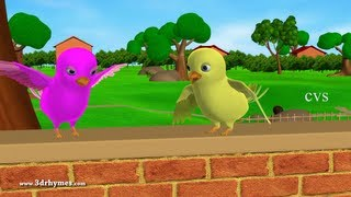 getlinkyoutube.com-Two little dicky birds - 3D Animation English Nursery rhymes for children
