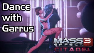 getlinkyoutube.com-Mass Effect 3 - Citadel DLC - Garrus Dancing with Shepard (Female Shepard / Romance)