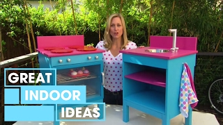 How to build a Kids' Toy Cooktop with Tara