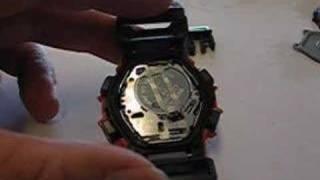 G-Shock Battery Change Tutorial