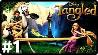 Zagrajmy W Zaplątani ( Tangled ) - Let's Play Mishy 1# ,,Pierwszy Figiel''