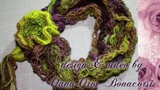 getlinkyoutube.com-crochet chic& fancy neck warmer