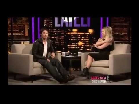 IAN SOMERHALDER ON CHELSEA LATELY