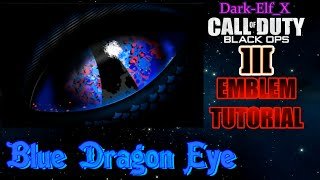 getlinkyoutube.com-Black Ops 3 Emblem - Blue Dragon Eye