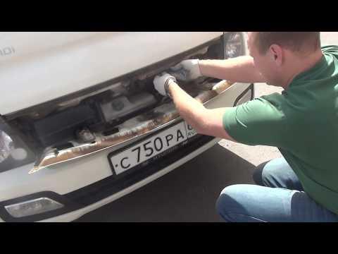 Как поменять салонный фильтр Портер 2