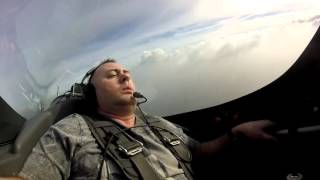 CHRIS HANSON FREAKS OUT IN AEROBATIC AIRCRAFT