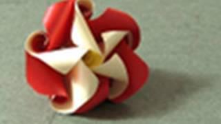 """getlinkyoutube.com-Mother's Day Origami Instructions: """"Just Twist"""" Twirl (Krystyna Burczyk)"""