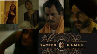Sacred game | Netflix movie | nawazuddin siddiqui, saif ali khan, radhika apte | Ads dekho