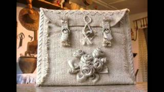 getlinkyoutube.com-Модные сумки своими руками - сумки из мешковины
