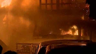 Mumbai: Fire breaks out at a godown in Kurla's Mohammad Estate area