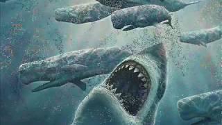 getlinkyoutube.com-Megalodon vs Predator X (Pliosaurus funkei)