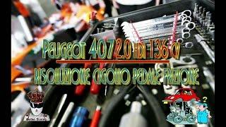 getlinkyoutube.com-Peugeot 407 2 0 Hdi 136 cv Risoluzione gigolio pedale frizione