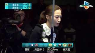 getlinkyoutube.com-20140227 安麗益之源盃 M8 車由蘭 vs 謝喻雯