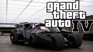 "getlinkyoutube.com-GTA IV Batman Batmobile vs hULK  Mod ""Grand Theft Auto"""