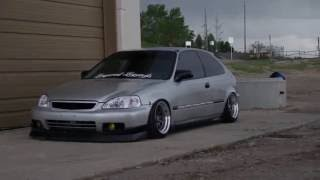 getlinkyoutube.com-Slammed HONDA HATCH | LVS Media | Static Honda Civic